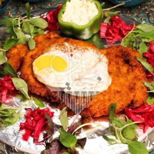 خوراک شینسل مرغ